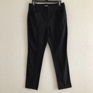 Chico's Pants - Chicos So Slimming Black Crepe Ponte Pull On Pants